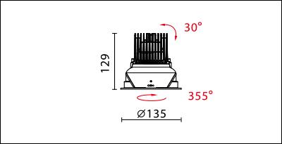 DW-9950R-dimension