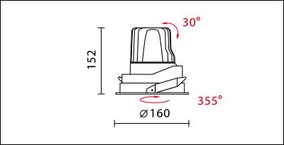 DW-9960R-dimension