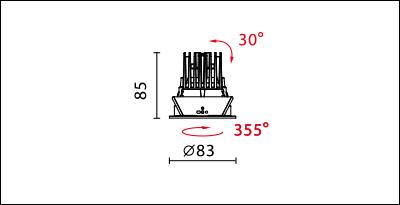 DW-9930R-dimension