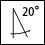 20°垂直擺動-圖標