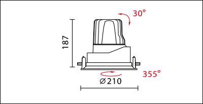 DW-9980R-dimension