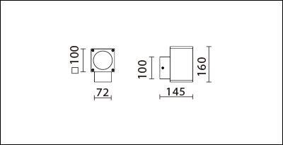 OBA-114S(C18)-尺寸圖