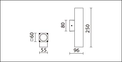 OBA-132S(C12)-尺寸圖
