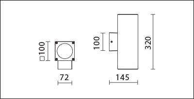 OBA-134S(C18)-尺寸圖