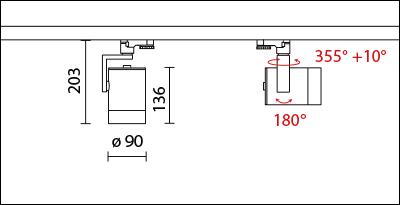 SA-8500AD-413-dimension