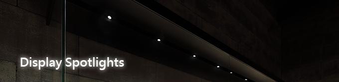 display spotlights