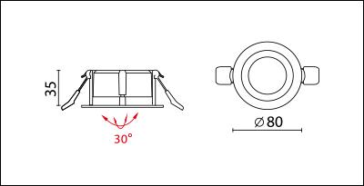 DA-542R-dimension