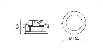 ODW-306B-dimension